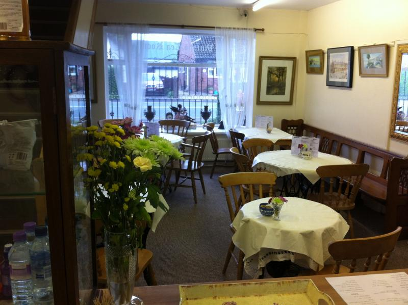 The old corn mill tea room